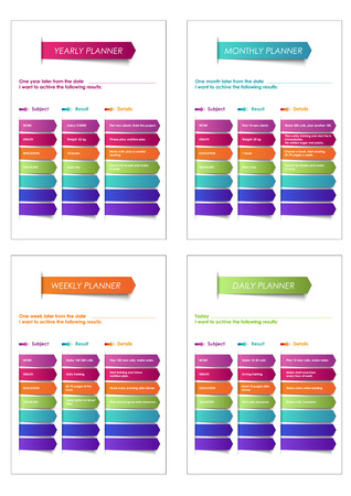 Business and personal planner