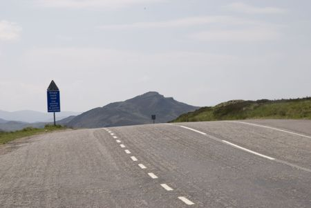 postes: High road Stock Photo