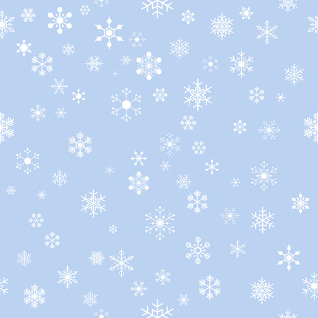 plain background: seamless snowflakes on plain background for christmas, new year