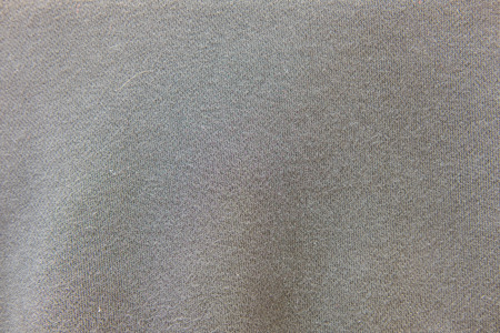 knitwear: Close Up of Grey Knitwear Fabric. Texture, Background Stock Photo