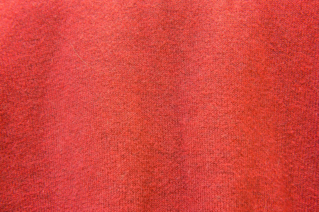 knitwear: Close Up of Red Knitwear Fabric. Texture, Background