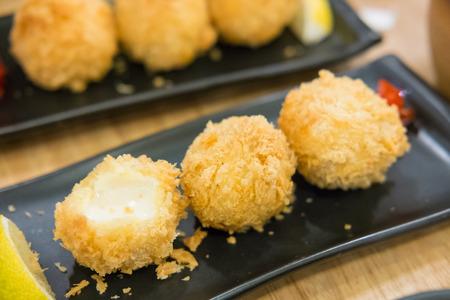 fried cheese ball