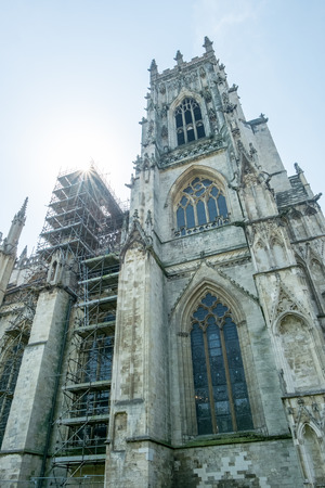 york minster: York Minster Stock Photo