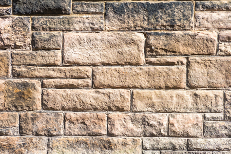 Old brick stone wall for texture background
