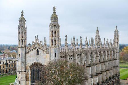 View of King's College, University of Cambridge. Standard-Bild
