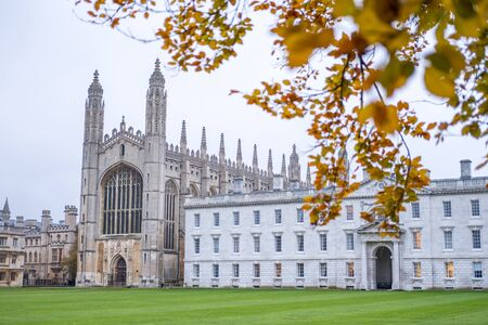 View of Kings College, University of Cambridge.