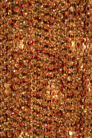 Abstract Brown Crystal Background photo