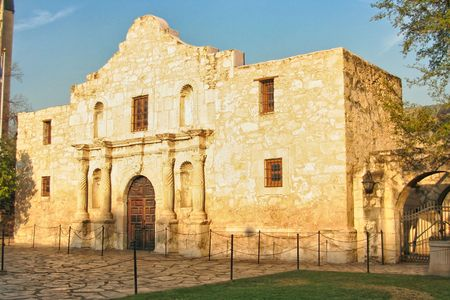 The Alamo located in San Antonio, Texas was the location of the great last stand by some of the biggest Texas Heroes. photo