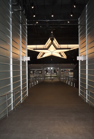 ARLINGTON, TX - AUGUST 2009: Entrance into the VIP Miller Lite Club in Cowboys Stadium in Arlington, Texas on August 12th, 2009 Stock Photo - 13161701