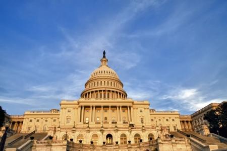 Der Kongress der Vereinigten Staaten auf der Mall in Washington DC Standard-Bild - 20371895