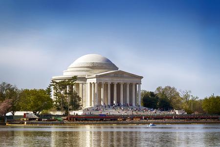 Die Thomas Jefferson Memorial in Washington DC Standard-Bild - 27884073