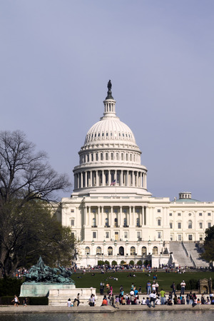 The United States Capitol Building on the mall in Washington D.C. Standard-Bild