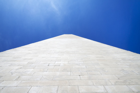district of columbia: The side of the Washington Monument in Washington D.C