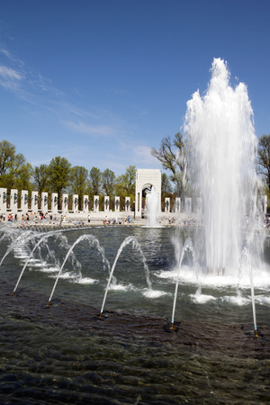 The National World War II Memorial in Washington D.C., USA