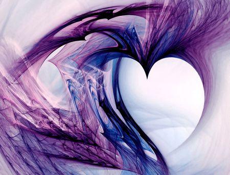 Grunge coraz�n. �til para mensajes de amor, el D�a de San Valent�n, fechas, aniversarios. Copiar el espacio en el interior del coraz�n. Foto de archivo - 4155351