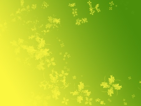 Abstract four leaf clover isolated on white. Spring, freshness concept. Useful for Saint Patrick day too.