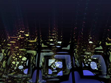 reminding: Abstract background, reminding to water reflections or fragmentation  Also relaxation, tranquility concept
