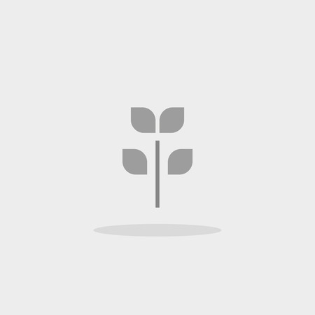 Icon tree vector web sign sprout growth