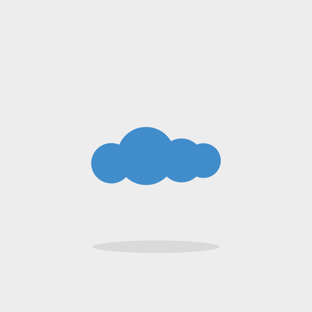 sweetheart: The cloud is a symbol icon vector sign cloud weather overcast sweetheart