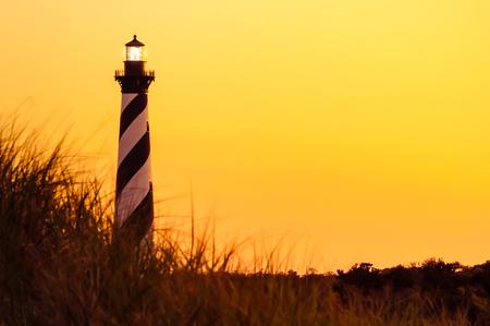 hatteras: Cape Hatteras at Sunset