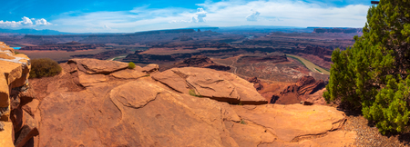 A viewpoint at Dead Horse Point State Park