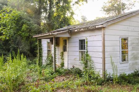 An abandoned house 免版税图像