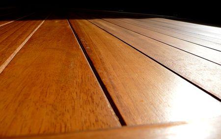decking: Wood Decking Stock Photo