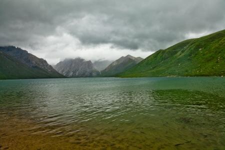 ze: Snow mountain Nian Bao Yu Ze in Qinghai, China