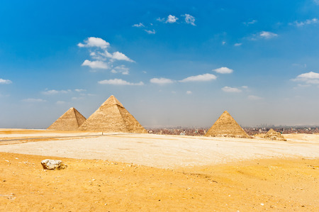 Pyramids in Egypt photo