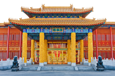 Traditional Chinese imperial palace