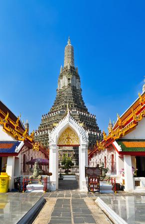 Entrance of the War Arun, Bangkok, Thailand