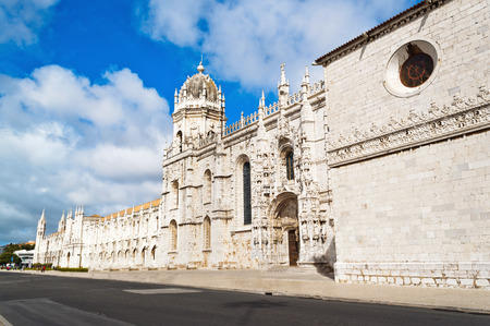 Monastery of the Hieronymites and Tower of Belem in Lisbon, Portugal