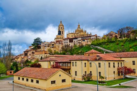 Segovia cathedral, Castilla y Leon, Spain