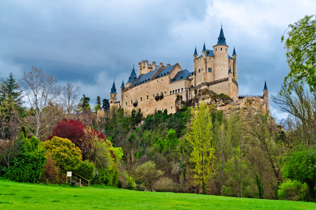 segovia: The Alcazar of Segovia, Castilla y Leon, Spain Editorial