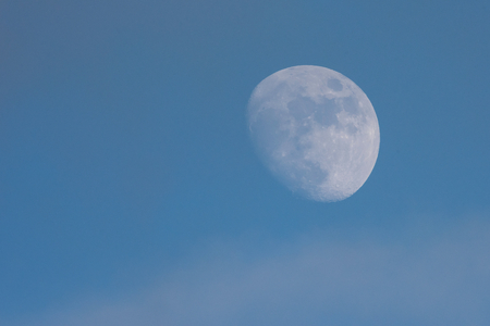 Moon, Moonflash, Moonlight Stock Photo
