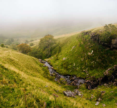 View from Brecon Beacons National Park in Wales.
