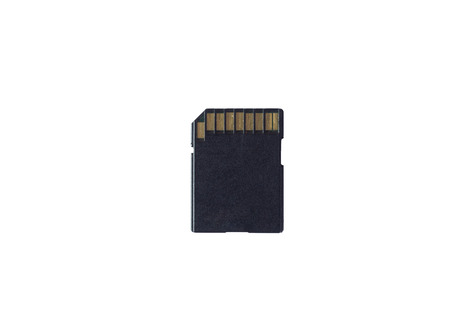 sd card: SD card isolated