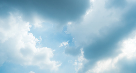 raincloud background Stock Photo