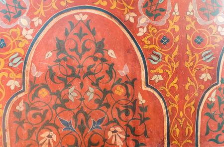 latticed: wood background or texture arabian style Stock Photo