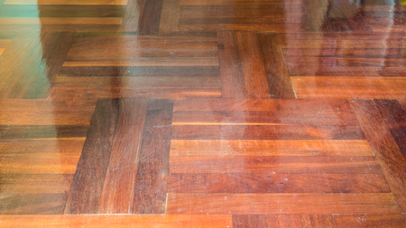 mixflooring: old wood parquetry background