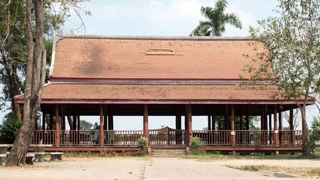 hua: pavilion at thai Stock Photo