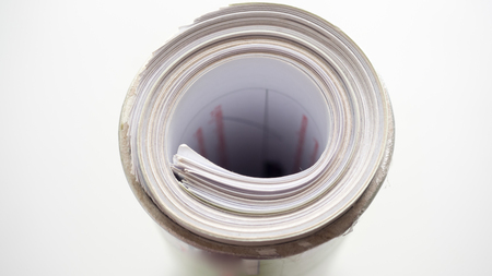 Document roll close up