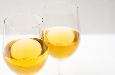 alcohol   close up white background Stock Photo