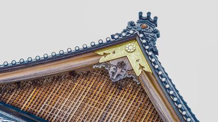 roof japan close up