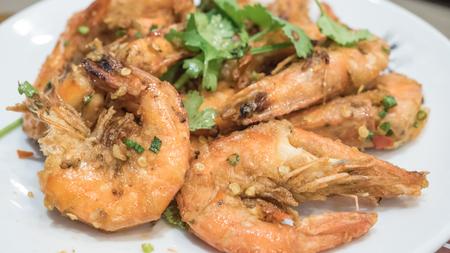 Stir Fried Shrimp with Salt