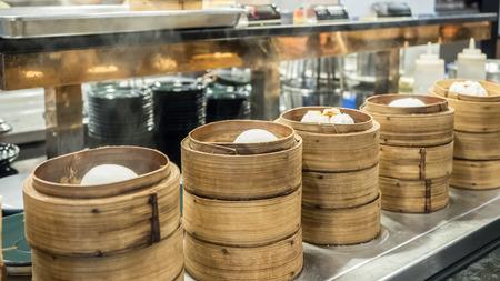 Dim sum breakfast food for chinese restaurant buffet