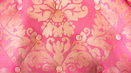 sofa fabric Flower pattern background Stock Photo