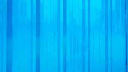 Blue metal sheet background