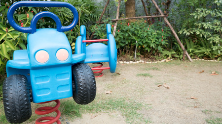toy car in playground