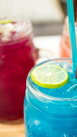 water blue sky soda